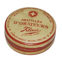 Boîte Pastilles d'orateur - Klaus