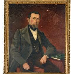 Le père d'Oscar Huguenin