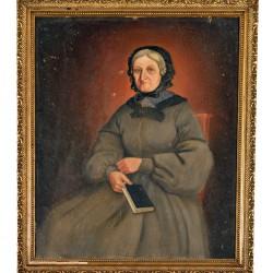 La mère d'Oscar Huguenin