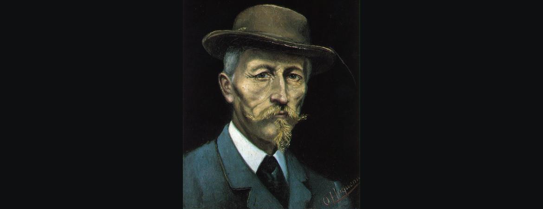 Autoportrait Oscar Huguenin