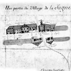 Plan de La Sagne 1808