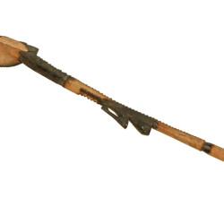 Cuillère en bois (cassée)