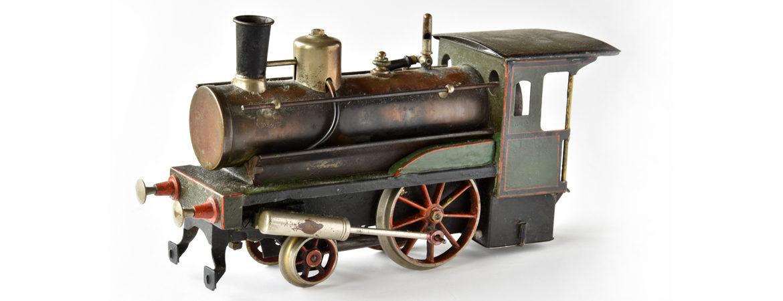 Locomotive-jouet à vapeur